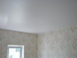 Матовый белый в спальню 12 м²